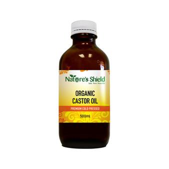 Castor Oil 500ml Organic