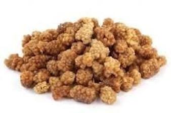 Mulberries White Organic Dried