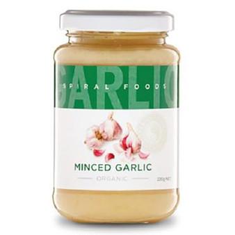 Minced Garlic Organic 220g