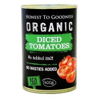 Tomatoes Diced Organic BPA FREE 400g