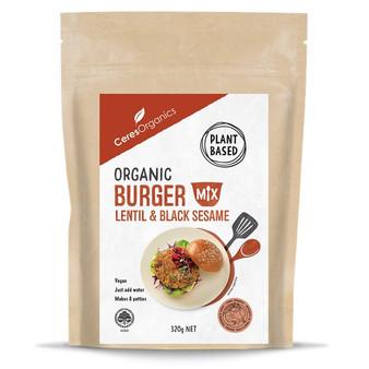 Ceres Burger Mix 320g Organic Lentil & Black Sesame