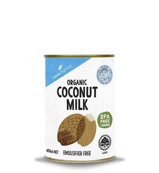 Ceres Coconut Milk Organic 400ml