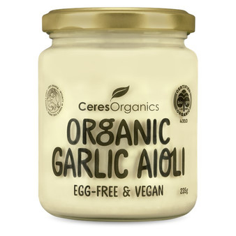 Ceres Garlic Aioli Vegan Organic 235g