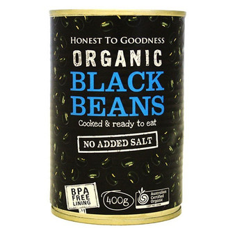 Black Beans Organic BPA FREE 400g
