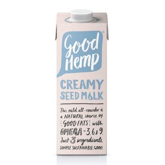 Good Hemp Creamy Seed Milk Organic 1Ltr Ceres
