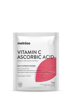Vitamin C + Ascorbic Acid Melrose 125g