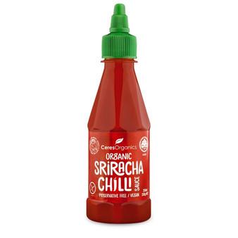 Sriracha Chilli Sauce 250ml Organic Ceres