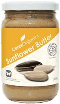 Sunflower Butter Organic 220g Ceres