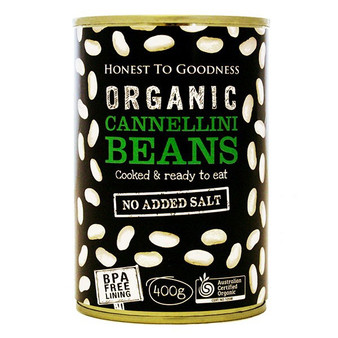 Cannellini Beans 400g BPA Free Cooked Organic