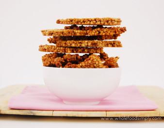 Buckwheat Maple Tahini Crunch