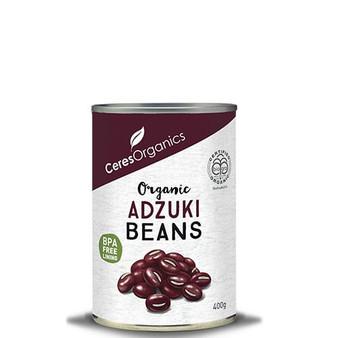 Adzuki Beans Organic 400g Ceres