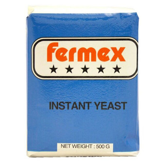 Natural Instant Yeast 500g Fermex