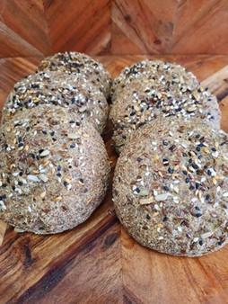 Bread Roll Single Gluten Free Vegan