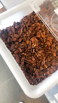 Coconut Chips Organic - Chocolate