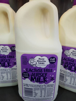 Misty Mountain Lactose Free Milk