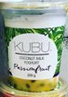 Kubu 200g Passionfruit Coconut Yoghurt