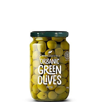 Green Olives Pitted Organic