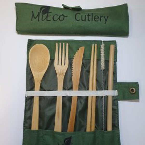 Cutlery Set Mieco Bamboo