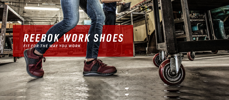 detaljerade bilder känt märke heta nya produkter Reebok Work – Safety Shoes and Military Boots