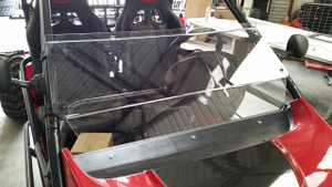 Half Windshield with Rubber Straps - Renli Rl1500