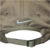 Back of Cap Showing Nike Swoosh location.