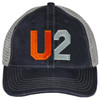 The U2 cap shown in this section is used for applique letter / number / color illustration only. Caps ordered from this section are solid Comfort Colors Caps, and are not mesh back trucker caps as shown. Trucker caps can be ordered using the other selection shown on the Create A Cap page.
