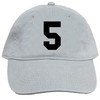 The 5 Cap shown in this section is used for applique letter / number / color illustration only. Caps ordered from this section are Comfort Colors Trucker caps, and are not solid Comfort Colors caps as shown. Solid Comfort Colors caps can be ordered using the other selection shown on the Create A Cap page.