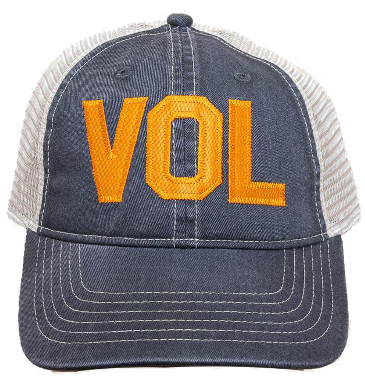 d7e5d5a19e0 VOL Graphite   Ivory Comfort Colors Trucker Cap - Rogue Garments