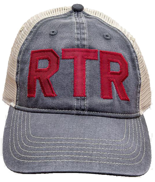 . 100% tea-dyed cotton twill front . 100% polyester soft mesh back . 6-panel unstructured . six rows of bill stitching . precurved bill . snapback closure