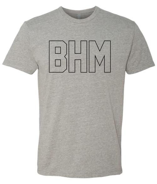 4.3 oz, 32 single, 60% combed ring-spun cotton/40% polyester CVC jersey Set-in collar 1x1 baby rib Tear away label Sizes:  S-XXL