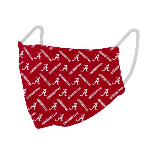 Alabama Crimson Tide Licensed Reusable Masks (Package of Two)