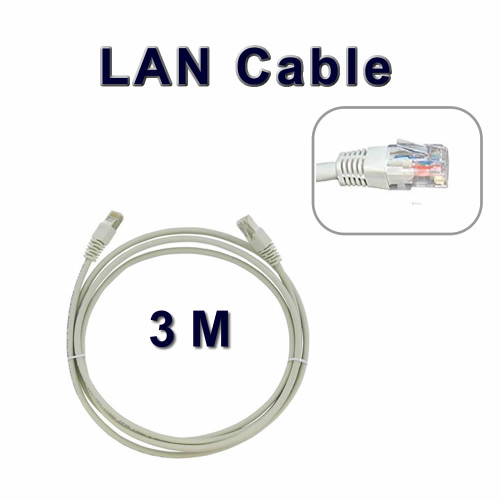 3 M Long Network Ethernet Cable Internet Wire LAN CAT5 Router Quality
