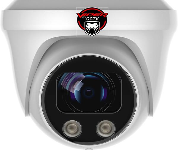 Viper Pro - CCTV Dome Camera 8MP  Sony Starvis Fixed Lens Night Vision for HD TVI CVI AHD Analogue DVR Outdoor