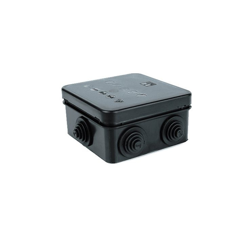 IP Junction Box (85x85x42mm) - Black