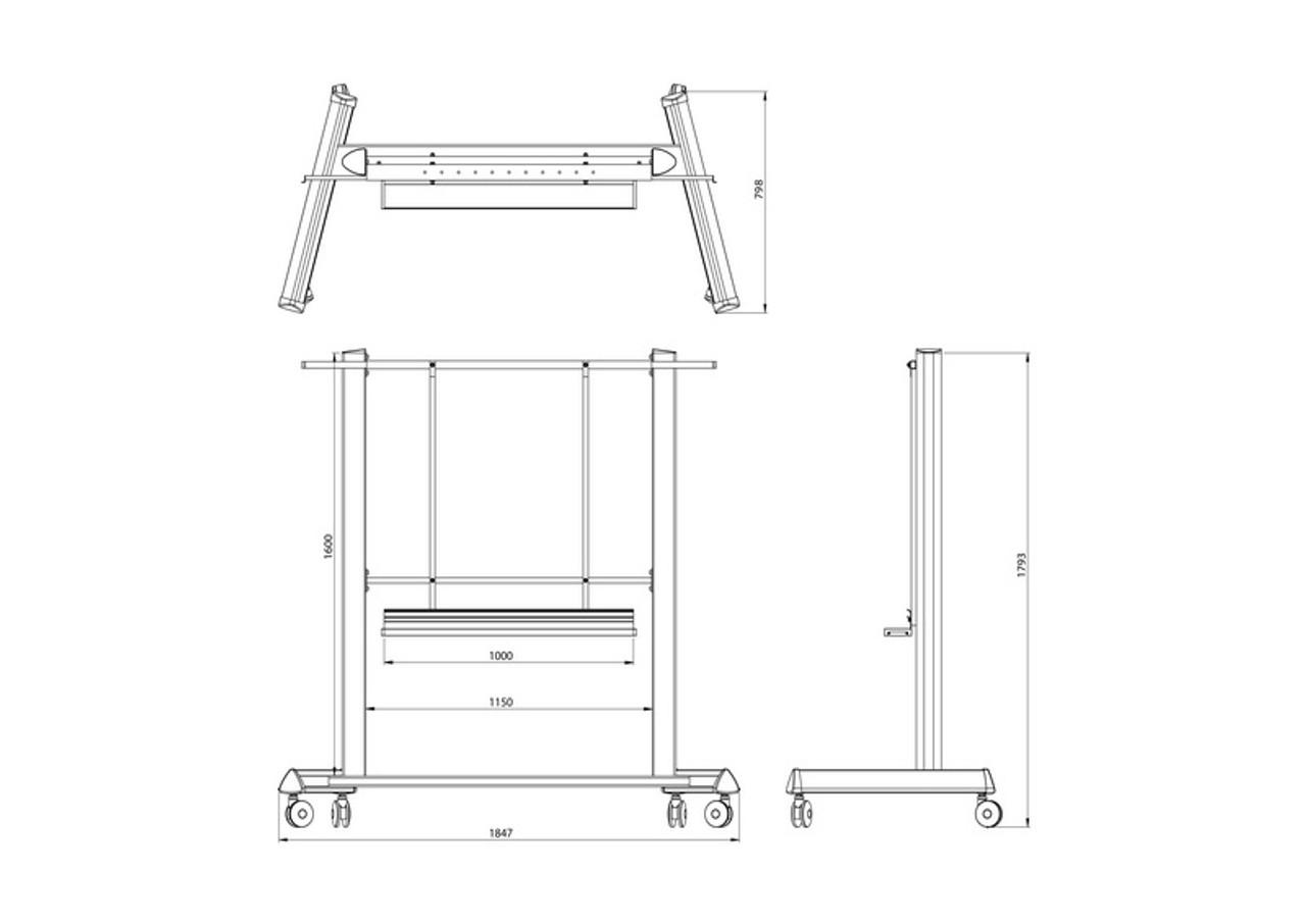 Mobile Stand para e-Boards (Precio en dolares)