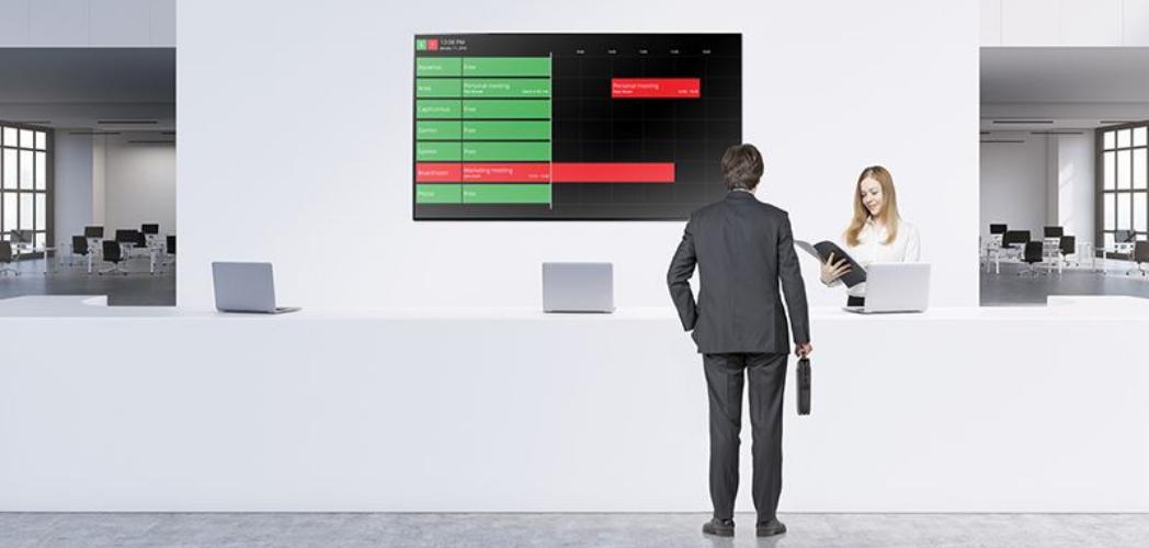 TouchONE, la solución de reserva de salas y espacios de trabajo plug & play