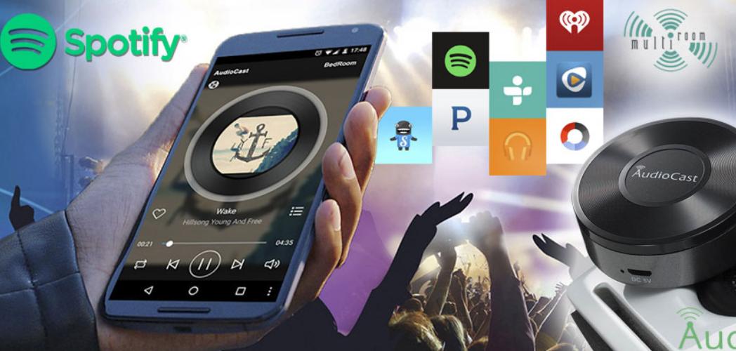 Transmite tu música de manera Inalámbrica en cualquier lugar de tu casa a través de la red WIFI