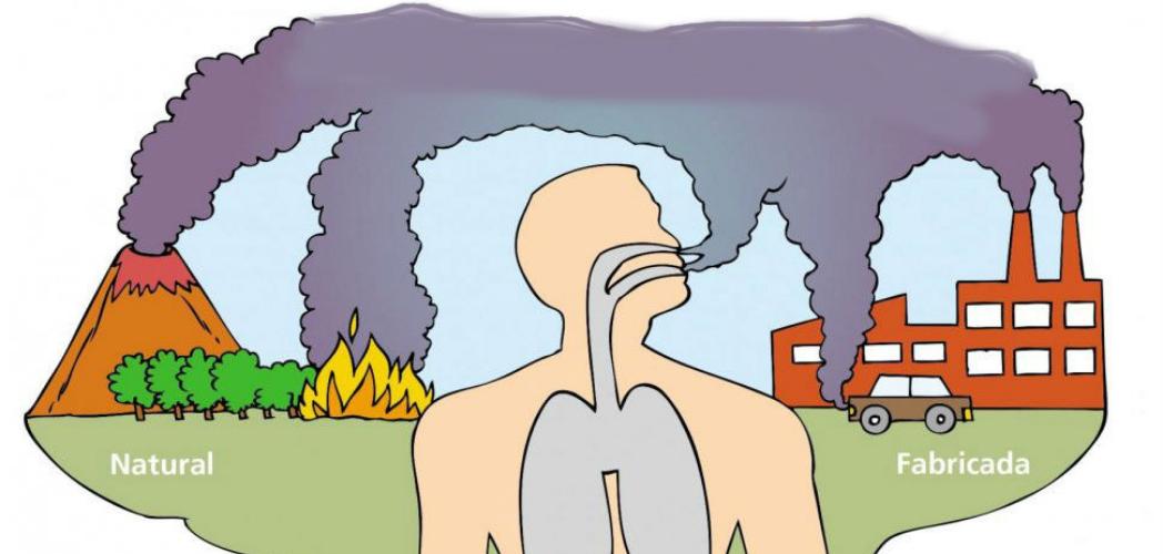 Las diferentes clases de polución y su afectación - como se miden