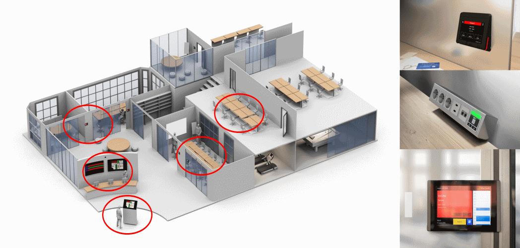 Nuevas tendencias para reserva de salas y escritorios