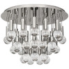 Shown in Polished Nickel with Crystal Accents