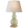 Gourd Form Small Table Lamp