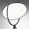 Superloon - LED Floor Lamp in Black or White Dimmable with Optical Sensor