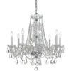 Traditional Crystal 8 Light Chandelier