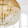Crystorama Duval 3 Light Antique Gold Chandelier