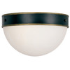 Brian Patrick Flynn for Crystorama Capsule Outdoor 2 Light Ceiling Mount