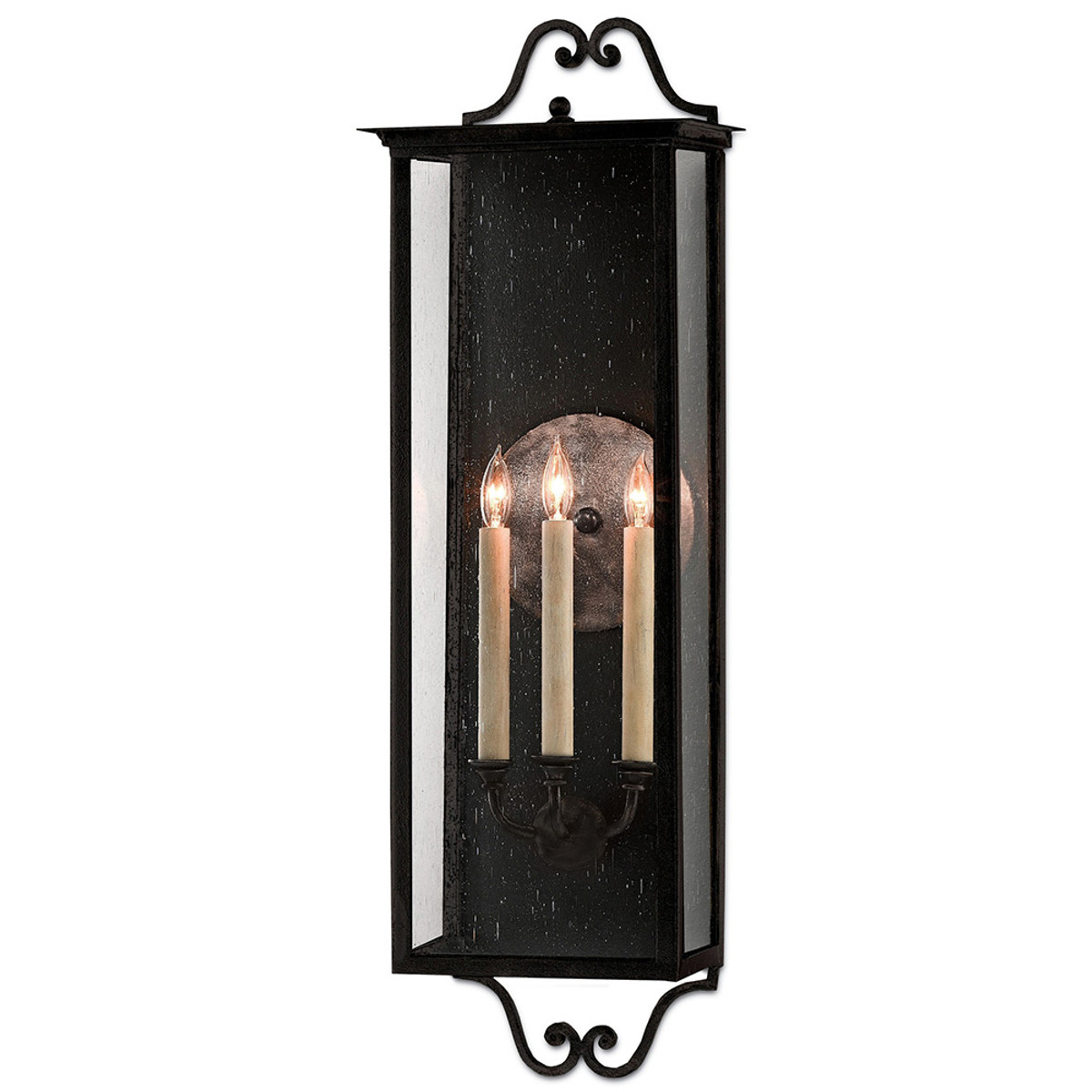 Buy The Giatti Outdoor Wall Sconce Large By Currey Company Price Match Guarantee Free Shipping On All Orders From Lightopia