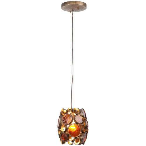 Shown in Kolorado with Recycled Amber Bottle Glass Shade