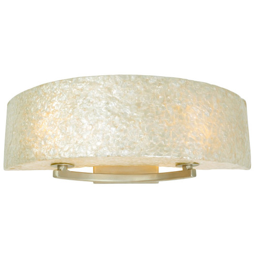 Shown in Small Gold Dust with Sustainable Crushed Natural Capiz Shell Shade