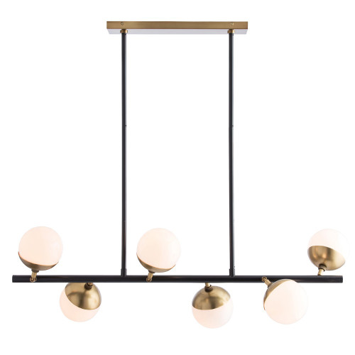 Shown in Oil Rubbed Bronze/Antique Brass/Opal Glass