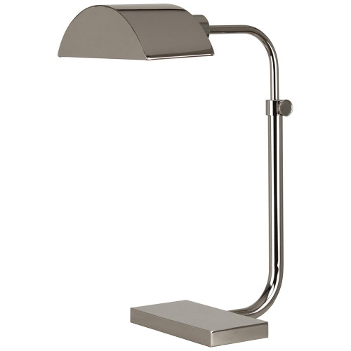 Shown in Polished Nickel with Metal Shade
